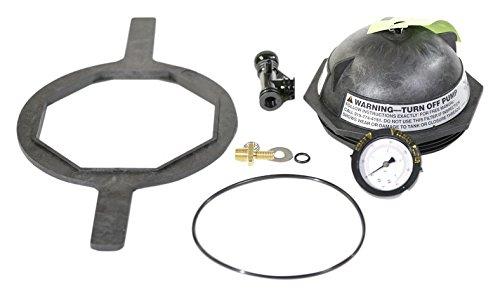 Pentair Triton-sand-filter (Pentair 154641schwarz sägezahngewinde Schließung Ersatz Kit Triton II Pool und Spa Sand Filter)
