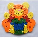 aembe–Madera Juego De Oso de peluche oso–magnéticas para el Aprendizaje/madera juguete/Juego De Memoria Para Niños–Juego de mesa. anlegen–motoric Ejercicios
