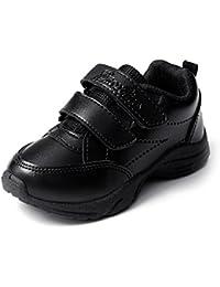 Liberty Black Velcro School Shoes