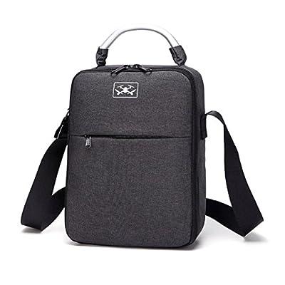 UPXIANG DJI Tello Drone Accessories, UPXIANG Large Capacity EVA Handheld Shoulder Bag Handbag Storage Battery Carrying Case for DJI Tello Drone [Waterproof & Shockproof]