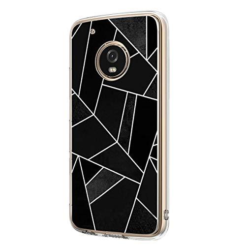 00a3fc9dd61 Funda para Motorola Moto G6 Carcasa Silicona Transparente Cristal TPU Suave  Moto G6 Case 360 Grados