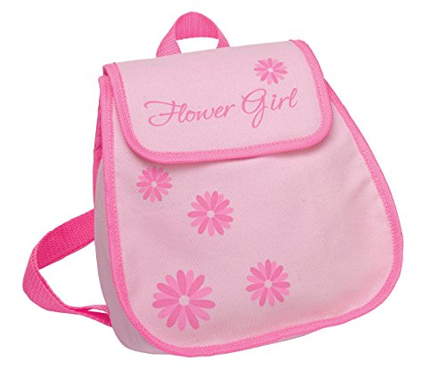 Lillian Rose Flower Girl Backpack, 9-inch by 10-inch