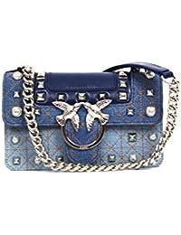Pinko love bag - E73 tracolla azzurro fiume 1P21BLY5F7 d1f78fd3341