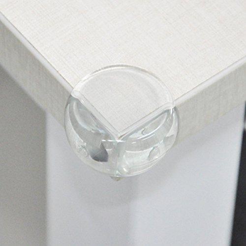 lot de 20 prot ge coin de table et mobilier antichoc pour b b avec adh sif r sistant. Black Bedroom Furniture Sets. Home Design Ideas