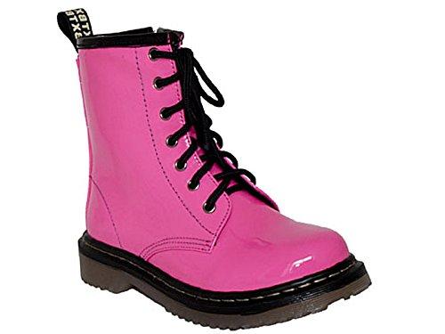 Foster Footwear ,  Mädchen Damen Biker Boots Rose