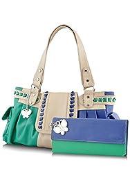 Butterflies Women's Handbag (Multi) (BNS MJ008)