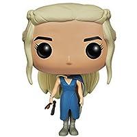 Funko 4048 Pop! Vinile Game Of Thrones Mhysa Daenerys Blue Dress