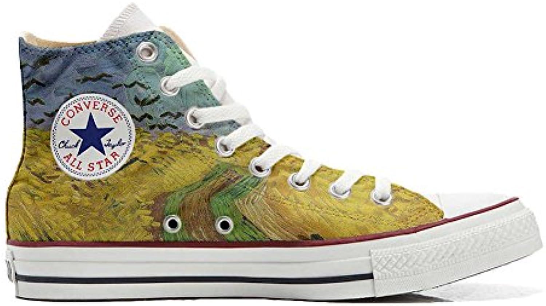 Converse All Star Personalisierte Schuhe (Custom Produkt) Van Gogh