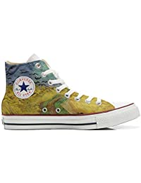 mys Converse All Star Customized, Sneaker Unisex, printed Italian style Van Gogh