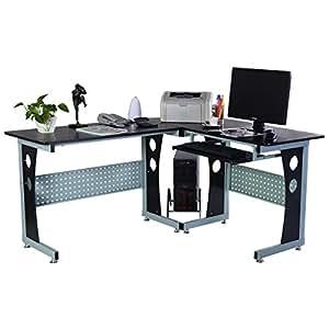 computertisch pc computerschreibtisch freizeittisch. Black Bedroom Furniture Sets. Home Design Ideas