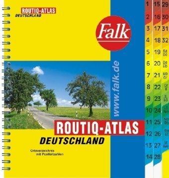 Falk Routiq-Atlas Deutschland 1 : 750 000.