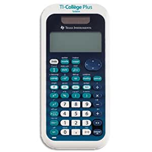 Texas Instruments TI-College Plus Calculatrice scientifique Bleu Clair