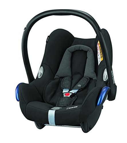 Preisvergleich Produktbild Maxi-Cosi CabrioFix Babyschale Gruppe 0+ (0-13 kg), nomad black, schwarz, ohne Isofix-Station