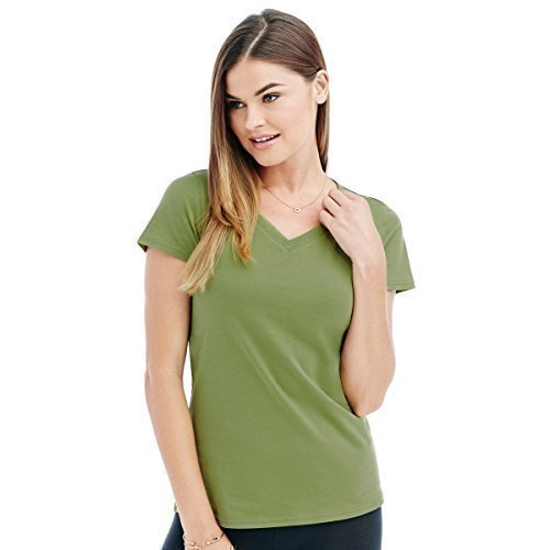 Stars By Stedman Janet Damen T-Shirt, V-Ausschnitt, Kurzarm (L) (Lavendel) (Lavendel Damen-t-shirts)