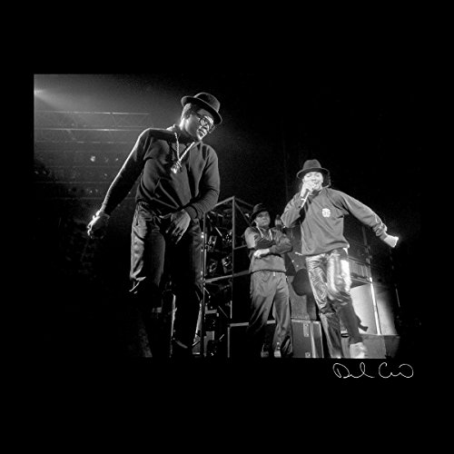 Run DMC Live Hammersmith Odeon 1986 Men's Varsity Jacket Black/White