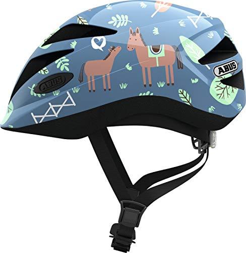 Abus Hubble 1.1 Helmet Kinder Blue Horse Kopfumfang S | 46-52cm 2019 Fahrradhelm