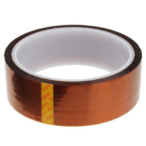 Preisvergleich Produktbild 30mm Band Klebeband hitzebeständiges Abdeckband Heißklebeband bis 350°C Wärmeklasse