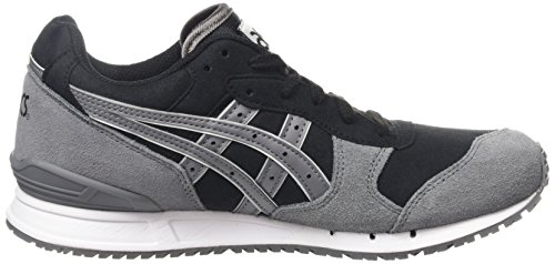 Asics Gel-Classic, Baskets Basses Mixte Adulte Noir (black/grey 9011)