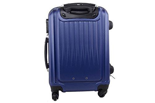 41ox dYURyL - Maleta rígida PIERRE CARDIN azul mini equipaje de mano ryanair S210