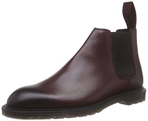 Dr. Martens Wilde Temperley Cherry Red, Bottes Chelsea Homme