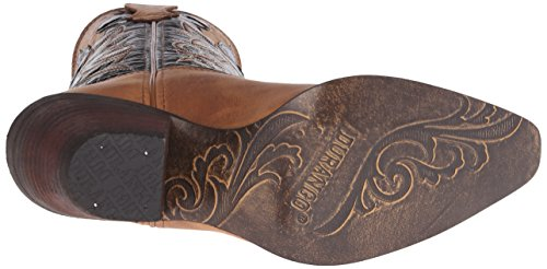 Durango Crush Cuir Santiags brown