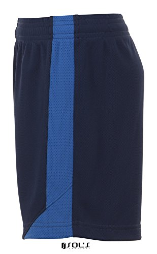 SOLS-OLIMPICO-Pantaloncini Sportivi Uomo Blu