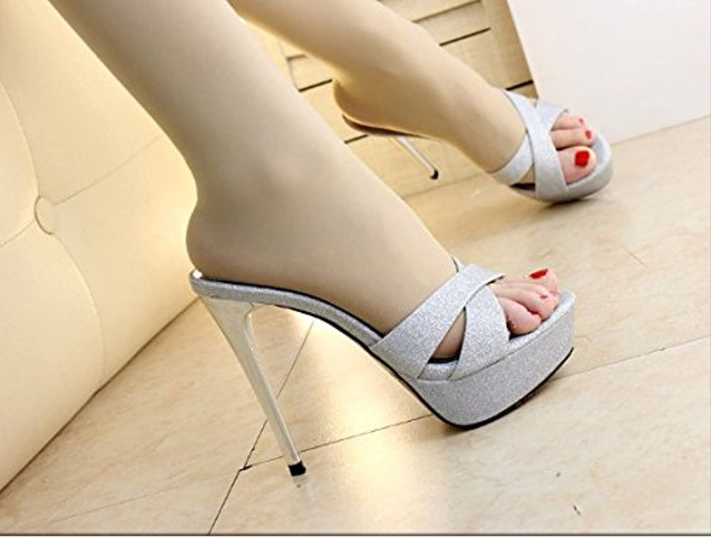 Aa-nvliangxie Zapatos de Mujer 2018 edición coreana verano Nuevo sandalias,Negro,ue36CN37 EU36CN37 black