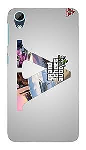 Designer printed back cover for htc desire 626