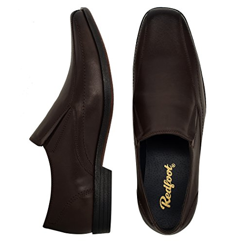 Redfoot Shoes, Mocassini uomo Brown