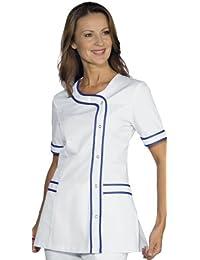 Robinson Mujer casaca con Brasilia Blanco + Color Azul
