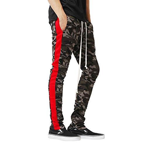 JMETRIC Herren Sport Hose|Trainingshose| Freizeithose|Modehose|Fitness Sport Slim Fit Casual Hose| Camouflage Kordelzug | Komfortable ()