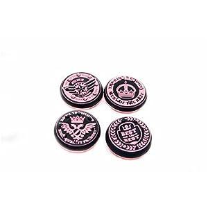 Thumbstick Grips für PS4 XBOX WII U Switch – Kappen für alle Controller – Crown Pink