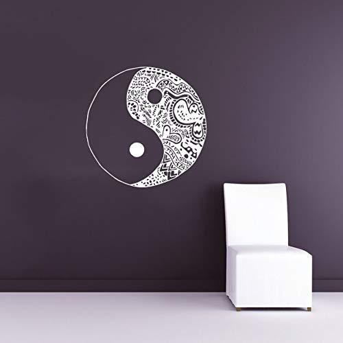 Chinese Traditonal Ying Yang Bild Wandaufkleber Poster Home Special Religious Decor Wandtattoos Wandbild YingYang Gemustert 42 * 42 cm