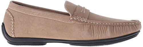 Stacy Adams Park Hommes Synthétique Mocassin Taupe
