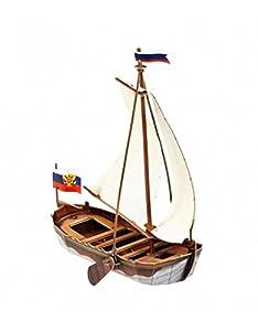 Clever Paper- Barca La Fortuna Puzle 3D, Color Variado (16)
