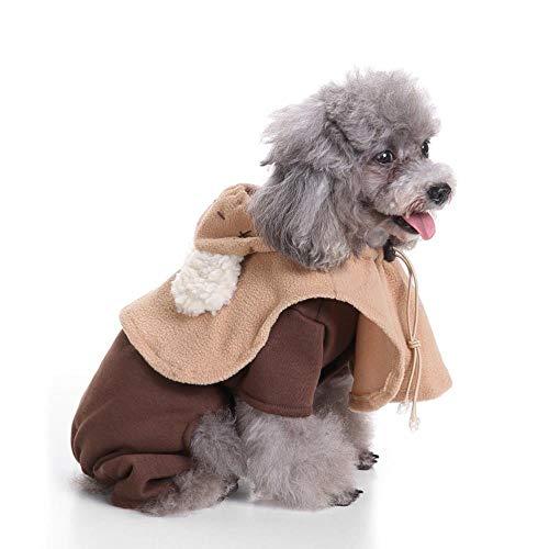 Kostüm Papst Katze - WINNER POP Mode Haustier Halloween Elf Kostüm, Hunde und Katzen Weihnachtsfeier Geburtstag Festival Cosplay Kostüme