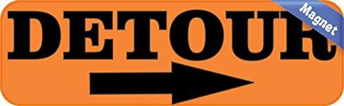 10-in-x-3-in-detour-con-chiusura-magnetica-right-arrow-sign
