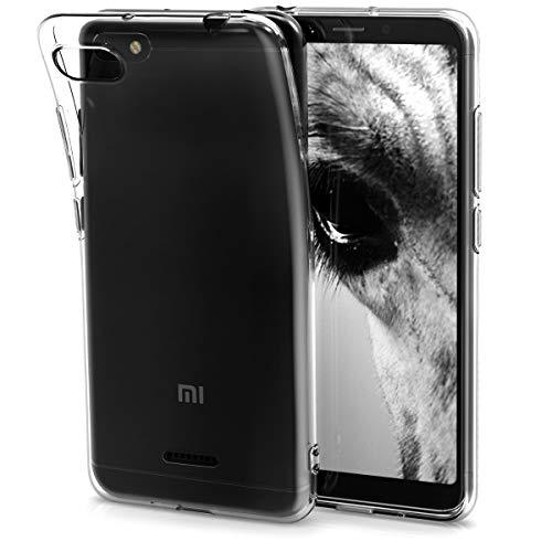 kwmobile Xiaomi Redmi 6A Hülle - Handyhülle für Xiaomi Redmi 6A - Handy Case in Transparent