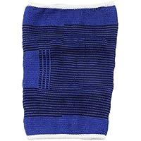 1pc suave elástico transpirable apoyo de la ayuda del cojín del protector de la rodilla Deportes del vendaje de prevención de colisiones / prevenir la tensión muscular Azul