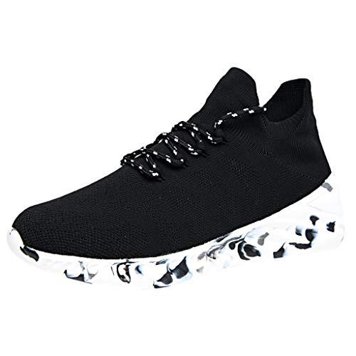 Sneaker da Uomo - Scarpe da Ginnastica Scarpe Casual da Passeggio Antiscivolo Scarpe Sportiva da Corsa All'Aperto