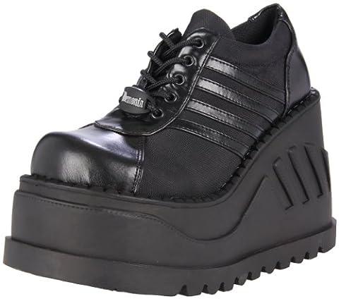 Demonia Women's Stomp-08 Trainers, Black (Blk Vegan Leather), 4 UK 37 EU