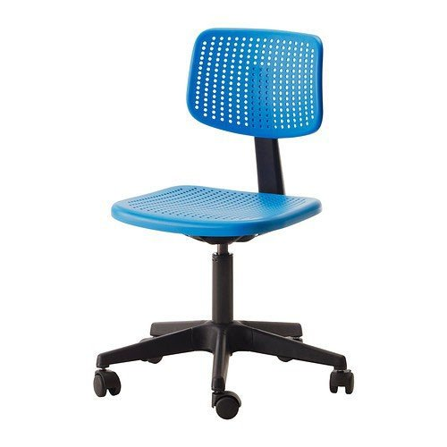 Ikea 402.141.17 - Silla de escritorio infantil, color azul