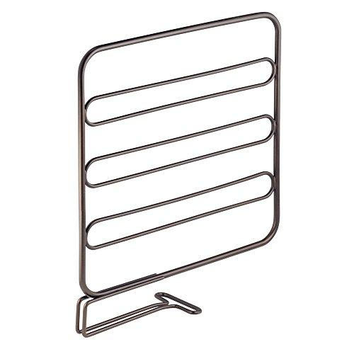 InterDesign Classico Regal Trennwänden Aufbewahrung Organizer-Set von Zwei Bronze