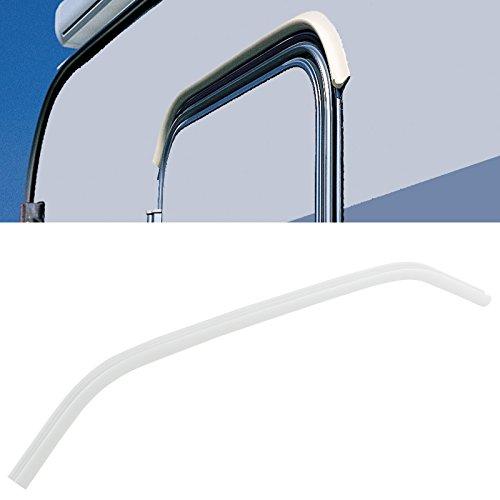 Preisvergleich Produktbild Mini Regenrinne Drip Stop Fiamma,  Polyvinylchlorid,  75 cm,  2 kg (Weiss)