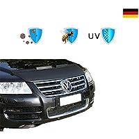 Campana deflector Protector de cap/ò Negro para Seat Leon 1P desde 2005 en adelante Protector Bonnet Bra Proteccion de piedras y insectos