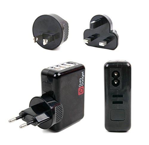 Duragadget Chargeur Secteur USB + Adaptateurs Internationaux pour Blade 350 QX3, Chroma BNF Basic