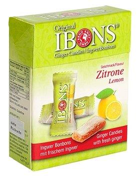IBONS Kaubonbons 60 g (Ingwer-Zitrone)