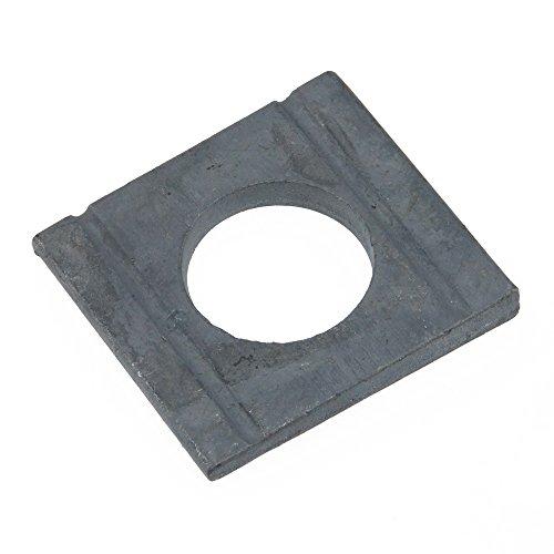 Scheibe DIN 434 Stahl feuerverz. ÜH vierkant Neigung 8% keilförmig 9 - 100 Stück