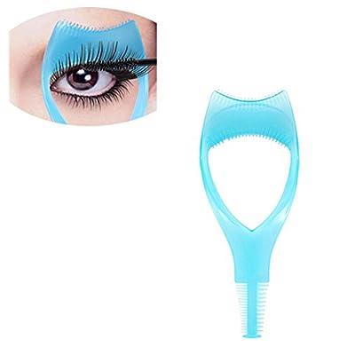 315238516f5 Gugzy® 3 in 1 Makeup Eyelash Tool Upper Lower Lash Mascara Applicator Guide  Eyelash Comb Cosmetic Tool