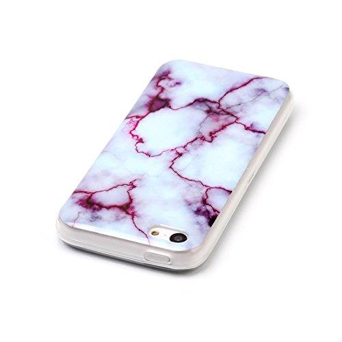 Lotuslnn iPhone 5/5s/SE Conque- Anti-Scratch Protection Etui Pour iPhone 5/5s/SE TPU Silicone Soft Cover iPhone 5/5s/SE( Coque, Stylus Pen ,Screen Protector )-Multicolored Gem